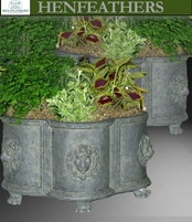 "Lion Planters ""Pair"" Six Claw Feet {USA}"