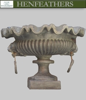 1840 French Lion's Head Urn   {USA}
