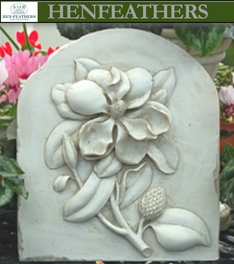 Magnolia Decorative Wall Plaque{USA}