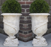 Ribbon Urn Pair {USA}  Great for the Holidays!!
