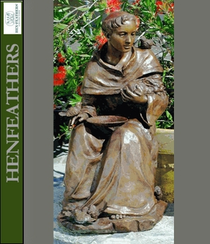 Saint Francis D'Assisi - Original Garden Sculpture