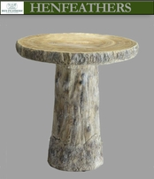 Saunders Woods Faux Bois Table (n)
