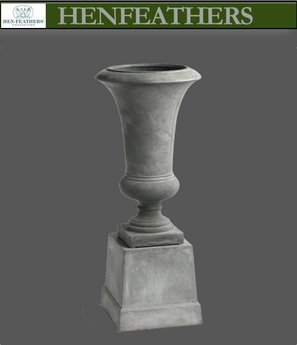 Trumpet Urn With Stand (n)