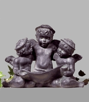 Garden Statues | Angel Statues | Three Angel Choir {USA}