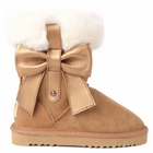 Leather & Shearling Boots