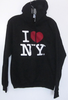 Black I heart NYC Hoody