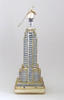 Empire State Building glass ornament