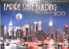 Empire State Building Exclusive 2015 Calendar