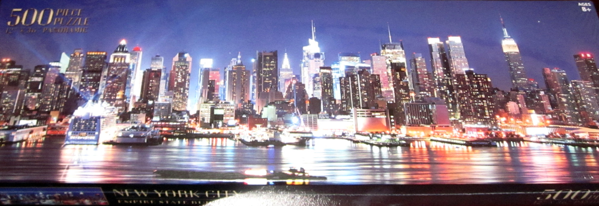 Nyc Empire State Building Panoramic Puzzle