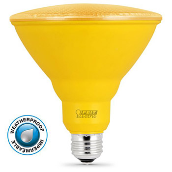 LED PAR38 Yellow #61719-FET