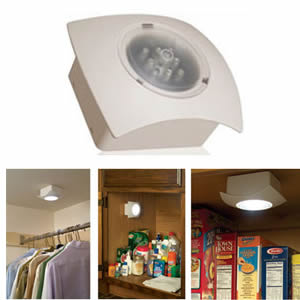 led wireless closet light with motion sensor battery operated mr beams  hs4835 r