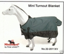 **SALE** 600D Miniature Horse Waterproof  Poly Turnout Blanket