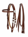 King Series Miniature Browband Headstall w/Silver