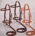 Miniature Horse English Leather Bridle w/Reins