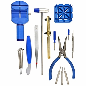 16-piece Deluxe Watch Repair Tool Kit Wrk001