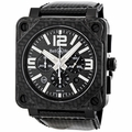 Bell and Ross BR0194-CA-FIBER Chronograph Automatic Watch