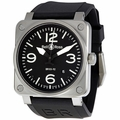 Bell and Ross BR0392-BL-ST Aviation Mens Automatic Watch