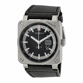 Bell and Ross BR0396-SI-ST Aviation Mens Automatic Watch