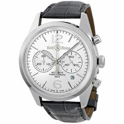 Bell and Ross BRG126-WHT-ST/SCR Chronograph Watch