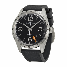 Bell and Ross BRV123-BL-GMT-SRB Vintage Mens Automatic Watch