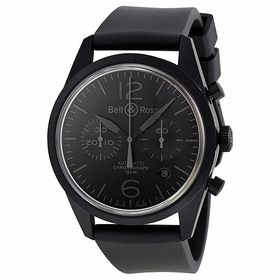 Bell and Ross BRV126-PHANTOM Vintage Mens Chronograph Automatic Watch