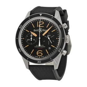 Bell and Ross BRV126-ST-HER/SRB Chronograph Automatic Watch