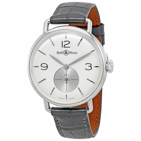 Bell and Ross BRWW1-ME-AG-OP/S WW1 Argentium Mens Hand Wind Watch