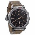 Bell and Ross BRWW2-REG-HER/SCA Vintage Mens Automatic Watch