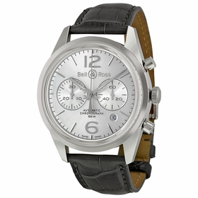 Bell and Ross BRG126-WH-ST/SCR Chronograph Automatic Watch