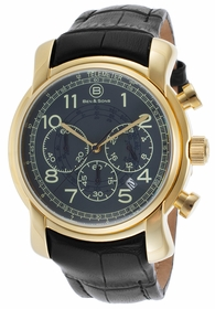 Ben and Sons BS-10013-YG-014-BLGA Chronograph Quartz Watch