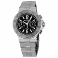 Bvlgari DG40BSSDCH Diagono Mens Chronograph Automatic Watch