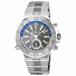 Bvlgari DG40C14SSDGMT Diagono Professional GMT Mens Automatic Watch