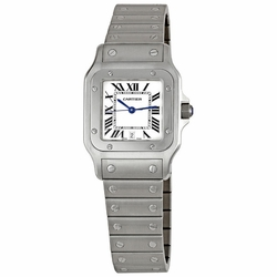 Cartier W20060D6 Santos de Cartier Mens Quartz Watch