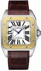 Cartier W20072X7 Santos Mens Automatic Watch