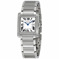 Cartier W51011Q3 Tank Francaise Unisex Quartz Watch