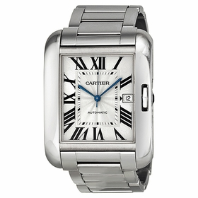 Cartier W5310025 Tank Anglaise Mens Automatic Watch