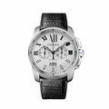 Cartier W7100046 Calibre de Cartier Mens Chronograph Automatic Watch