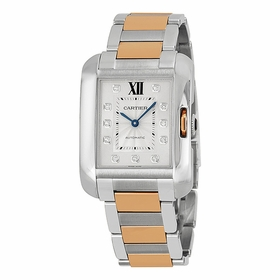 Cartier WT100025 Tank Anglaise Ladies Automatic Watch