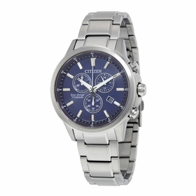 Citizen AT2340-56L TI+IP Mens Chronograph Quartz Watch
