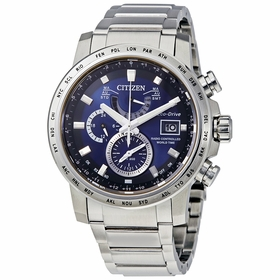 Citizen AT9070-51L World Time A-T Mens Chronograph Quartz Watch