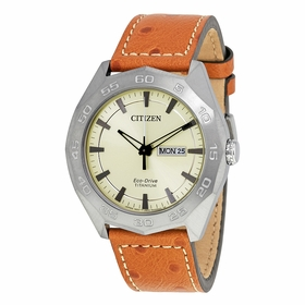 Citizen AW0060-11P Eco-Drive Titanium Mens Quartz Watch