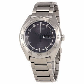 Citizen AW0060-54H Eco-Drive Titanium Mens Quartz Watch