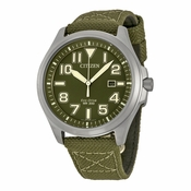 Citizen AW1410-16X Military Mens Eco-Drive Watch