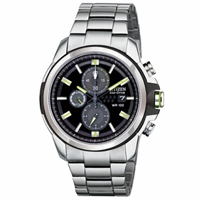 Citizen CA0428-56E AR Mens Chronograph Eco-Drive Watch