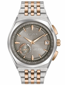 Citizen CC3026-51H Satellite Wave World Time GPS Mens Eco-Drive Watch