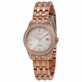 Citizen EW1903-52A Silhouette Crystal Ladies Eco-Drive Watch