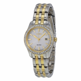 Citizen EW1908-59A Silhouette Crystal Ladies Eco-Drive Watch