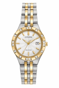 Citizen EW2334-51A Diamond Sport Ladies Quartz Watch