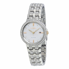 Citizen EW2340-58A Silhouette Crystal Ladies Quartz Watch