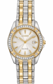 Citizen EW2354-53P Silhouette Ladies Eco-Drive Watch